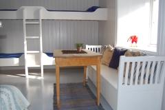 Oskjær - Soverom i 1. etg - 6 senger.